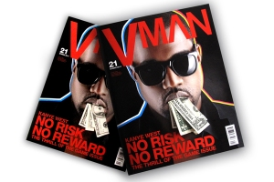 Kanye West VMAN issue
