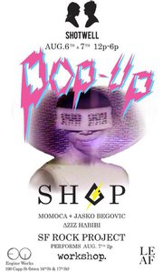Shop The Shotwell Pop Up this weekend!